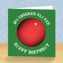 Snooker Coaster Card