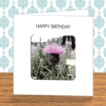 Thistle Coaster Card 6