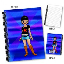 Girl Character Notebook