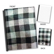 Black & White Checked Notebook