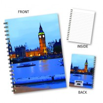 London Scene Wiro Notebook