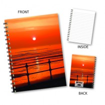 Beach Sunset Wiro Notebook