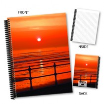 Beach Sunset Coil Notebook
