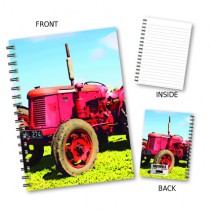 Red Tractor Wiro Notebook