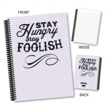Stay Hungry' Coil Notebook
