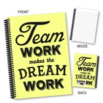 Team Work' Coil Notebook