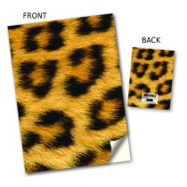 Leopard Skin Stitched Notebook