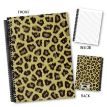 Cheetah Print Coil Notebook