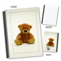 Teddy Bear in Frame Notebook