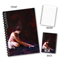 Ballet Dancer Wiro Notebook