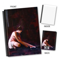 Ballet Dancer Coil Notebook