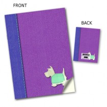 Pink Scottie Dog Notebook