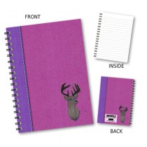 Stag Pink Wiro Notebook