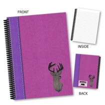 Stag Pink Coil Notebook