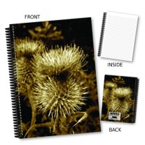 Thistle View Coil Notebook