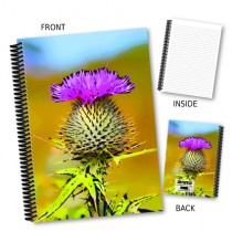 Thistle Picture Coil Notebook