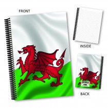 Welsh Flag Notebook