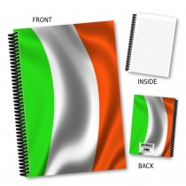 Irish Flag Notebook