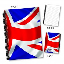 British Flag Notebook
