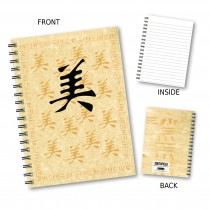 Oriental Design Wiro Notebook