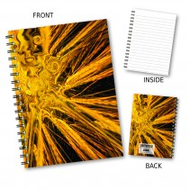 Abstract Wheat Wiro Notebook