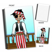Cartoon Pirate Notebook
