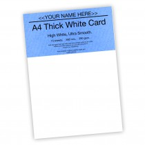 P-White Card 290gsm -15 sheets
