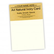 P - Natural Ivory Card 250gsm