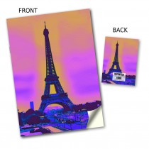 Eiffel Tower Stitched Notebook