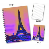 Eiffel Tower Wiro Notebook