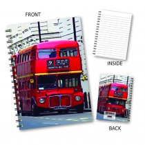 London Bus Wiro Notebook