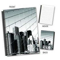 Skyscraper Coil Notebook