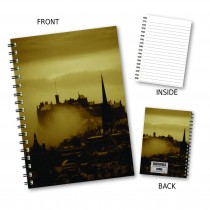 Skyline Scene Wiro Notebook