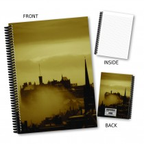 Skyline Scene Coil Notebook