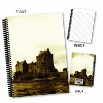 Castle View Coil Notebook