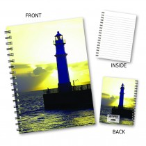 Lighthouse Stitched Notebook
