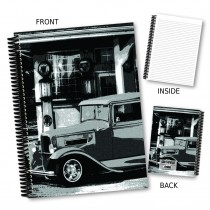 Vintage Car Coil Notebook