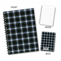 Gordon Style Tartan Notebook