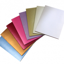 Assorted Pearlescent Scrapbook