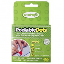 Peelable Adhesive Dots