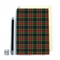 Red/Black Tartan Notebook
