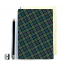 Blue/red Tartan Notebook