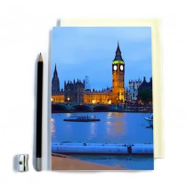 London Scene Stitched Notebook