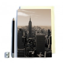 Empire State Building Stitched Notebook