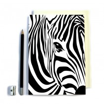 Zebra Stitched Notebook