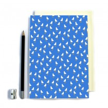 Duck Pattern Stitched Notebook