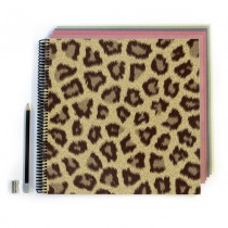 Cheetah Pattern Scrapbook