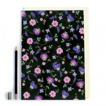 Pink Flower Notebook