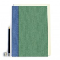 Green Tweed Notebook