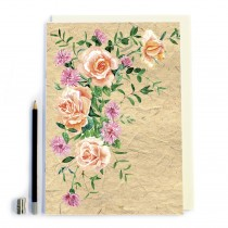 Vintage Flower Notebook